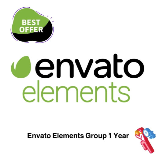 Envato Elements Group 1 Year