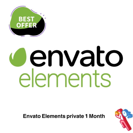 Envato Elements private1 Month